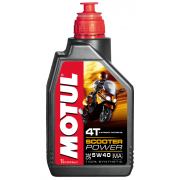 Tepalas motorolerio 4T sintetinis motul 1L