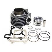 motorolerio ATV variklio grupė cilindras 125 150cc sportinė