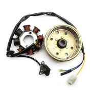motorolerio apvijos GY6 50 su magnetu