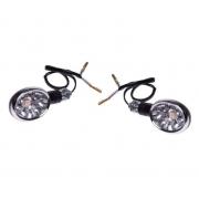 Posūkiai universalūs LED motociklo motorolerio keturračio