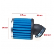 Oro filtras 45 laipsnių, 32mm.