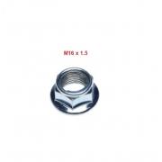 Motorolerio galinio rato veržlė 16x1,5