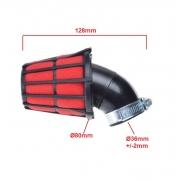 motorolerio keturračio atv universalus oro filtras 36 38 mm.