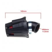 Motorolerio atv keturračio oro filtras 36 38 mm sportinis universalus