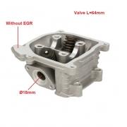 Motorolerio variklio galvutė GY6 49cc 50cc kinų 4t
