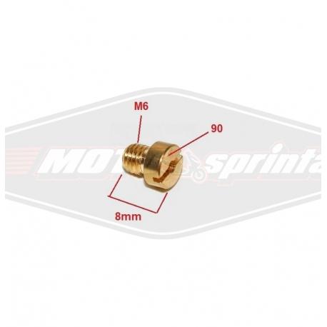 Motorolerio karbiuratoriaus žikleris kuro 90 70cc 80cc