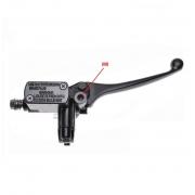 Motorolerio hidraulinių stabdžių pompa rankenėlė cilindriukas