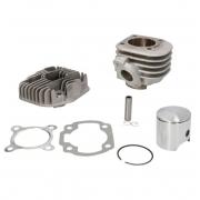 Variklio grupė cilindras stūmoklis 2T, 80cc, NIKASIL, Minarelli, yamaha, motorolerio