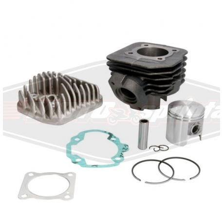 Motorolerio variklio grupė cilindras stūmoklis 2T, 80cc, Peugeot