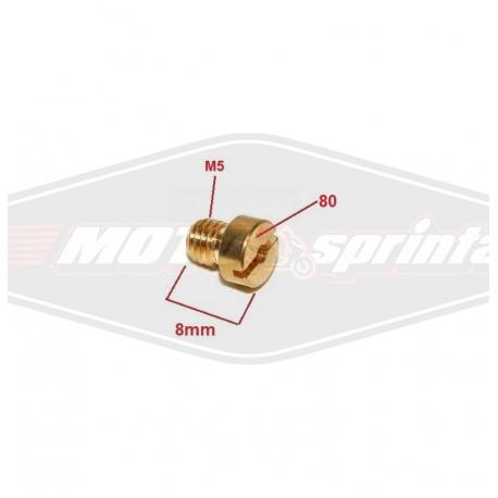 Žikleris kuro, M5 80 motorolerio