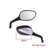 Motorolerio veidrodėliai 8mm