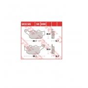 Stabdžių trinkelės TRW, MCB585