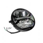 Motociklo LED priekinis žibintas LED.